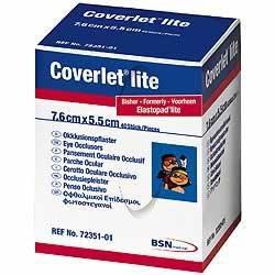 Coverlet Lite oogpleister