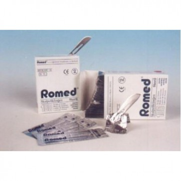 Romed scalpelmesjes <span>steriel</span>, doos 100 stuks