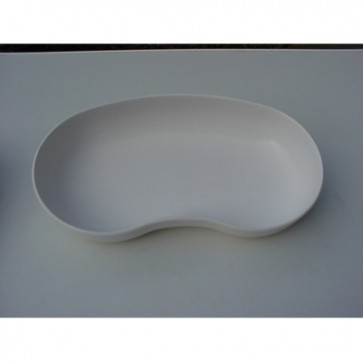 Nierbekken kunststof melamine wit 25 cm