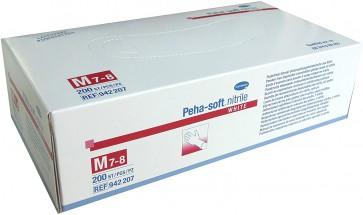Peha soft nitril handshoenen medium, 200 stuks