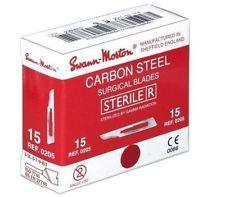 Swann Morton skalpelmesjes <span>steriel</span>, doos 100 stuks