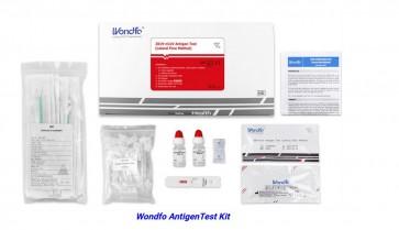 Coronavirus Ag Rapid Test Cassette WANG NEUS test (Swab, 20 stuks, 1 verpakking)