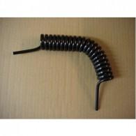 Spiraalslang zwart