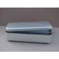 Instrumentdoos aluminium met deksel