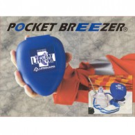Beademingsmasker Pocket Breezer in  hard kunststof etui