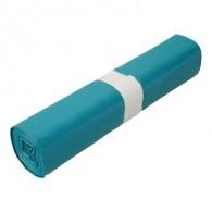 Afvalzak LDPE 70x110 cm 110 liter - 10 x 20 stuks - blauw