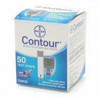 Bayer Contour teststrips - 50 stuks