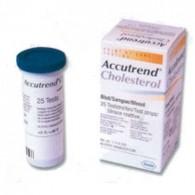 Accutrend Cholesterol teststrips 25 stuks