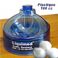Alcohol bevochtiger kunststof 100 ml.