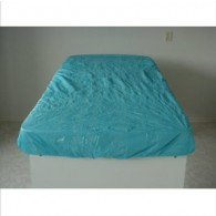 Matrasovertrek blauw disposable, 100 stuks.