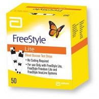 Abott FreeStyle Lite teststrips 50 stuks