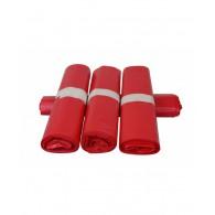 Afvalzak HDPE 70 x 110 cm, 15 x 20 stuks - rood