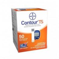 Bayer Contour TS teststrips, 50 stuks