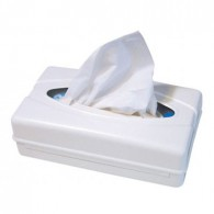 Tissue dispenser wit, 1 stuks