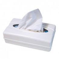 Tissue dispenser wit, 1 stuks