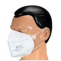 FFP2 mondmasker met oorelastiekjes inclusief earsaver, doos 10 stuks