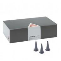 Heine oortrechters 4.0 mm ( volw ) grijs voor F.O / Fiber otoscopen, 1000 st.