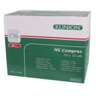 Klinion HG Kompres steriel 10 x 10 cm - 8 laags, 100 stuks