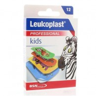 Leukoplast kinderpleister, 12 strips