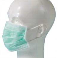 Mondmasker type IIR 3 laags / elastiek - 50 stuks
