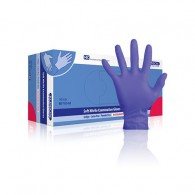 Klinion Soft Nitril handschoen poedervrij small, 150 stuks, indigo