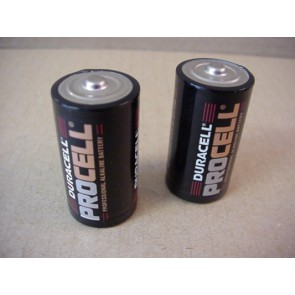 Set batterijen 2 x LR14 voor batterijhandvat