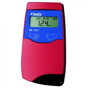 HemoCue Hb 201 hemoglobinemeter + netvoeding 220 V