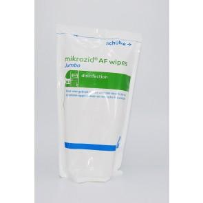 Mikrozid AF Jumbo doekjes, navulverpakking, 200 stuks